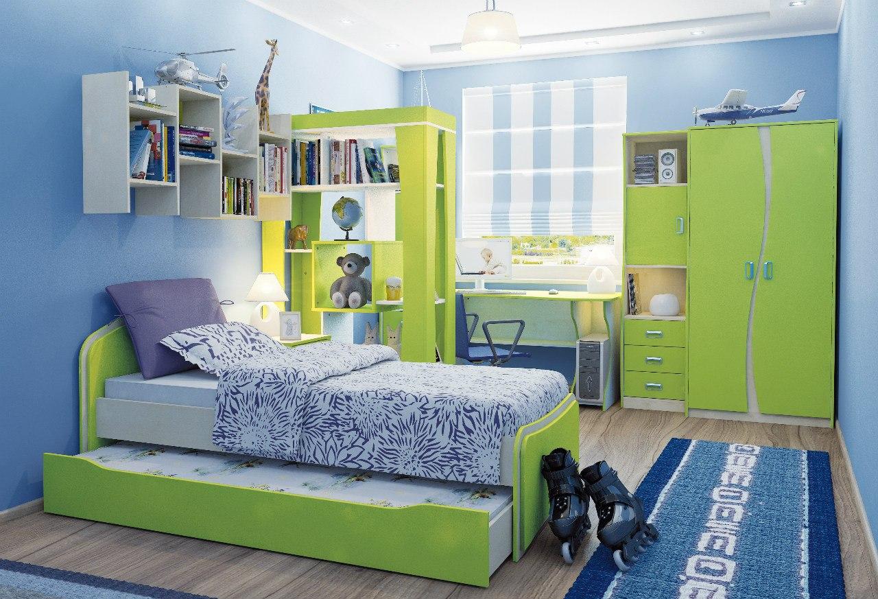 Детская мебель в комнату для мальчика.